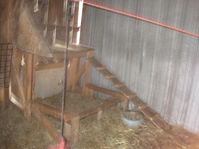 Inside the buck house